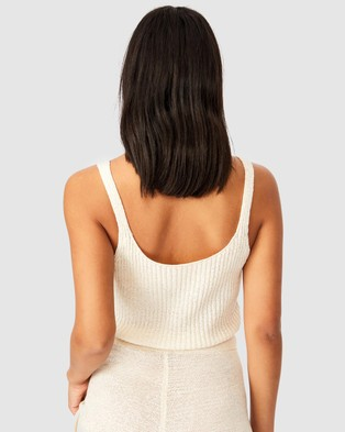 Cotton On - Match Me Cami Cropped tops (Sea Shell White)