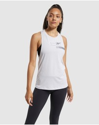 Reebok Performance - ACTIVCHILL+COTTON Graphic Tank Top