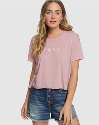Roxy - Womens Don't Look Back Cropped T Shirt