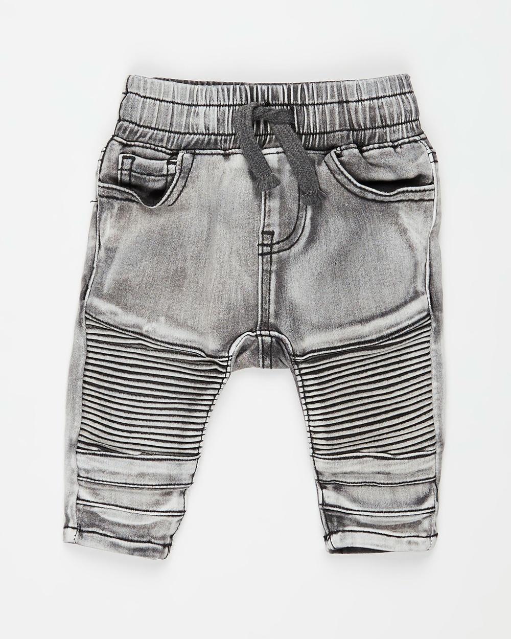Cotton On Baby Jay Moto Jeans Babies Black Wash Australia