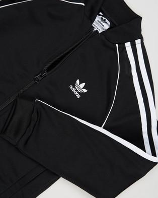 adidas Originals Adicolour SST Tracksuit   Kids - Sweatpants (Black & White)