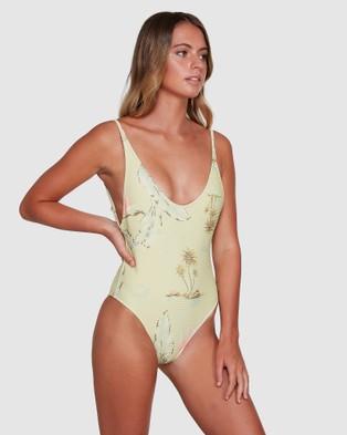 Billabong Maui Babe Onepiece - One-Piece / Swimsuit (LEMONGRASS)