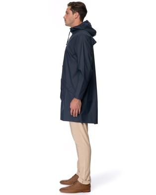 RAINS Long Jacket - Accessories (Blue)