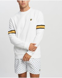 Lyle and Scott - Sleeve Rib Insert Sweatshirt