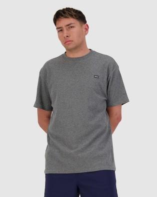 Huffer Looped Sup Tee - T-Shirts & Singlets (Grey)