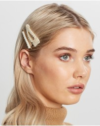 Orelia London - Pearl Snap & Multi Slide Hair Pack
