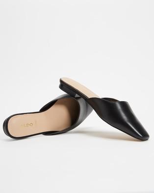 ALDO - Alyssaa Pointed Toe Mules - Flats (Black) Alyssaa Pointed Toe Mules