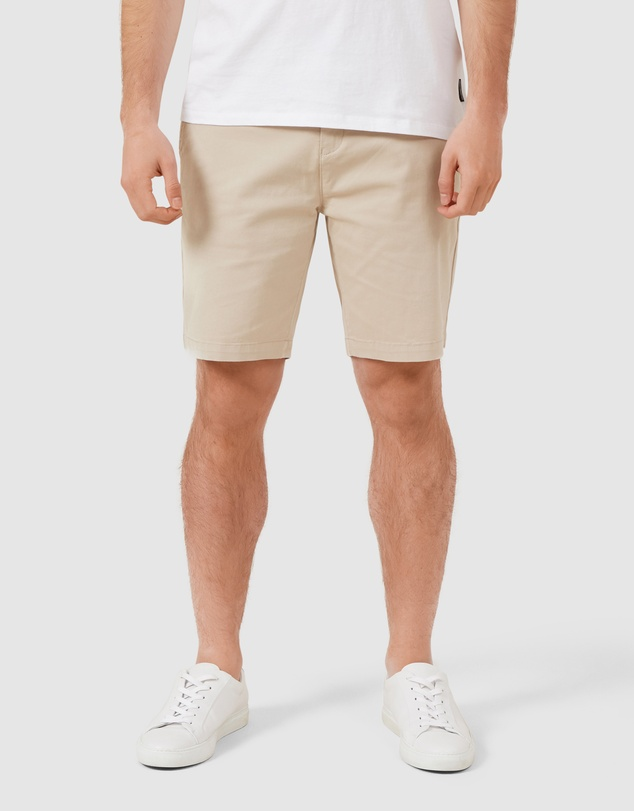 French Connection - Relaxed Fit Stretch Chino Shorts