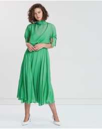CAMILLA AND MARC - Villiers Waisted Midi Dress