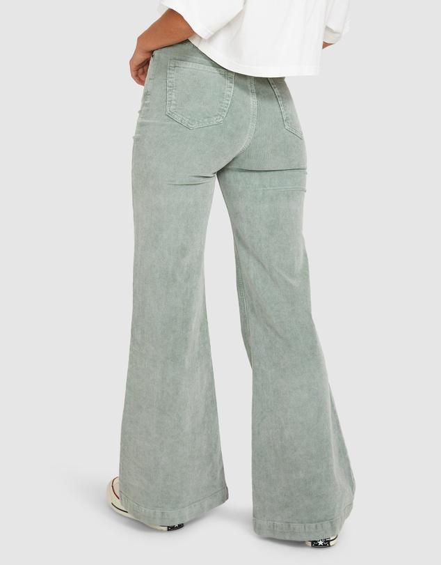 Women Farrah Cord Flare Jeans