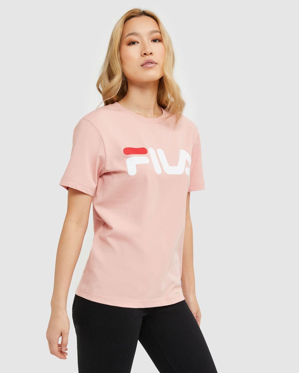 Fila Classic Tee Women's T-Shirts & Singlets Mellow Rose
