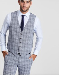 Double Oak Mills - Carter Check Waistcoat