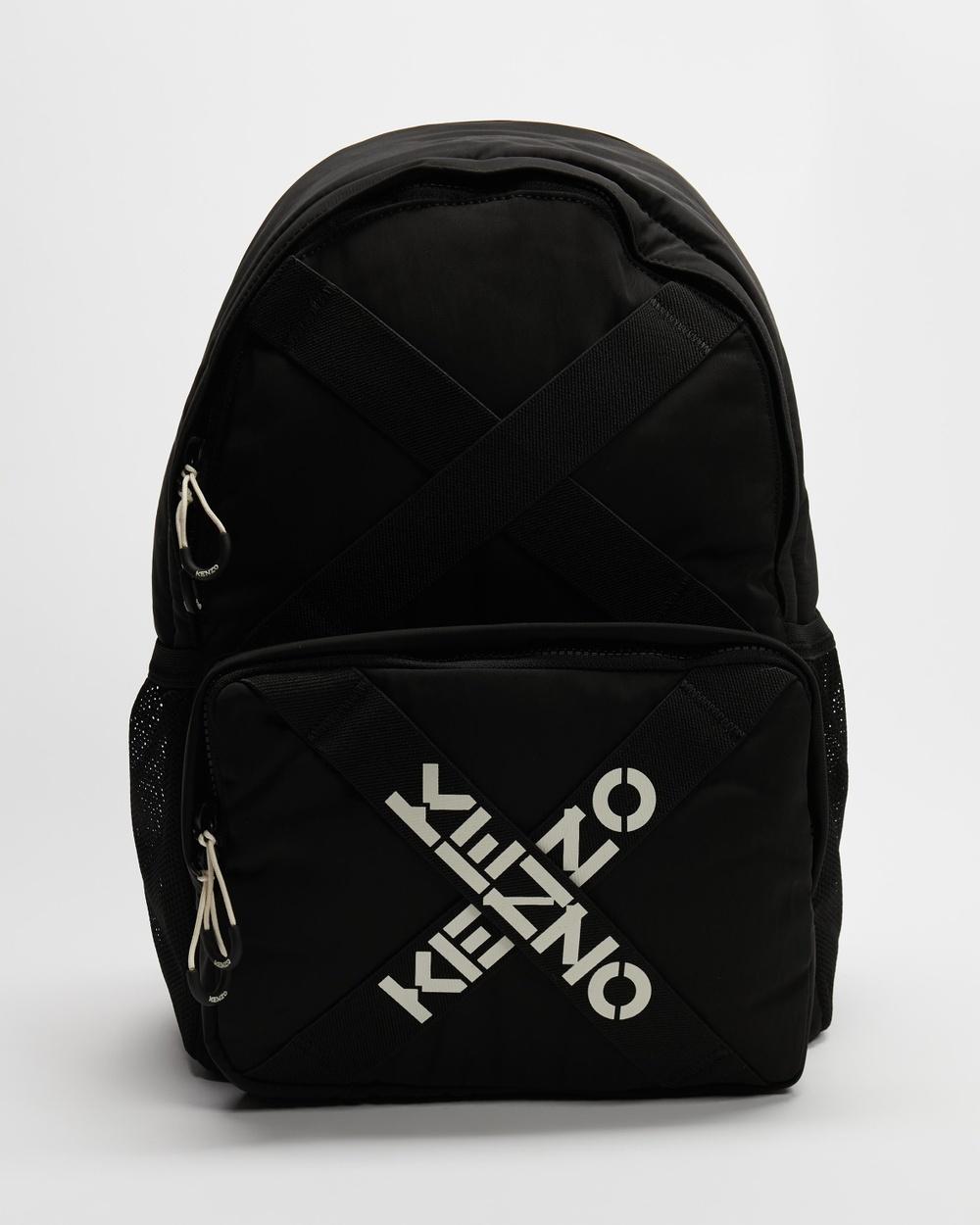 Kenzo Backpack Backpacks Black