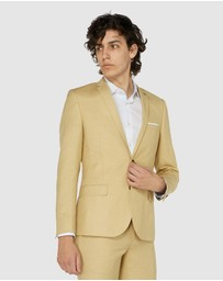 Jack London - Fawn Linen Suit Jacket
