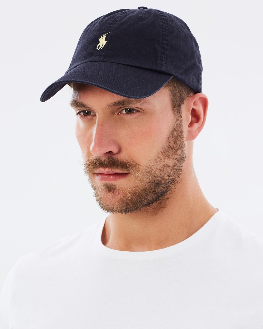 Cotton Chino Cap by Polo Ralph Lauren Online  b1ef294ad32