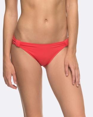 Roxy – Womens Roxy Essentials 70's Separate Bikini Pant – Swimwear (TEABERRY)