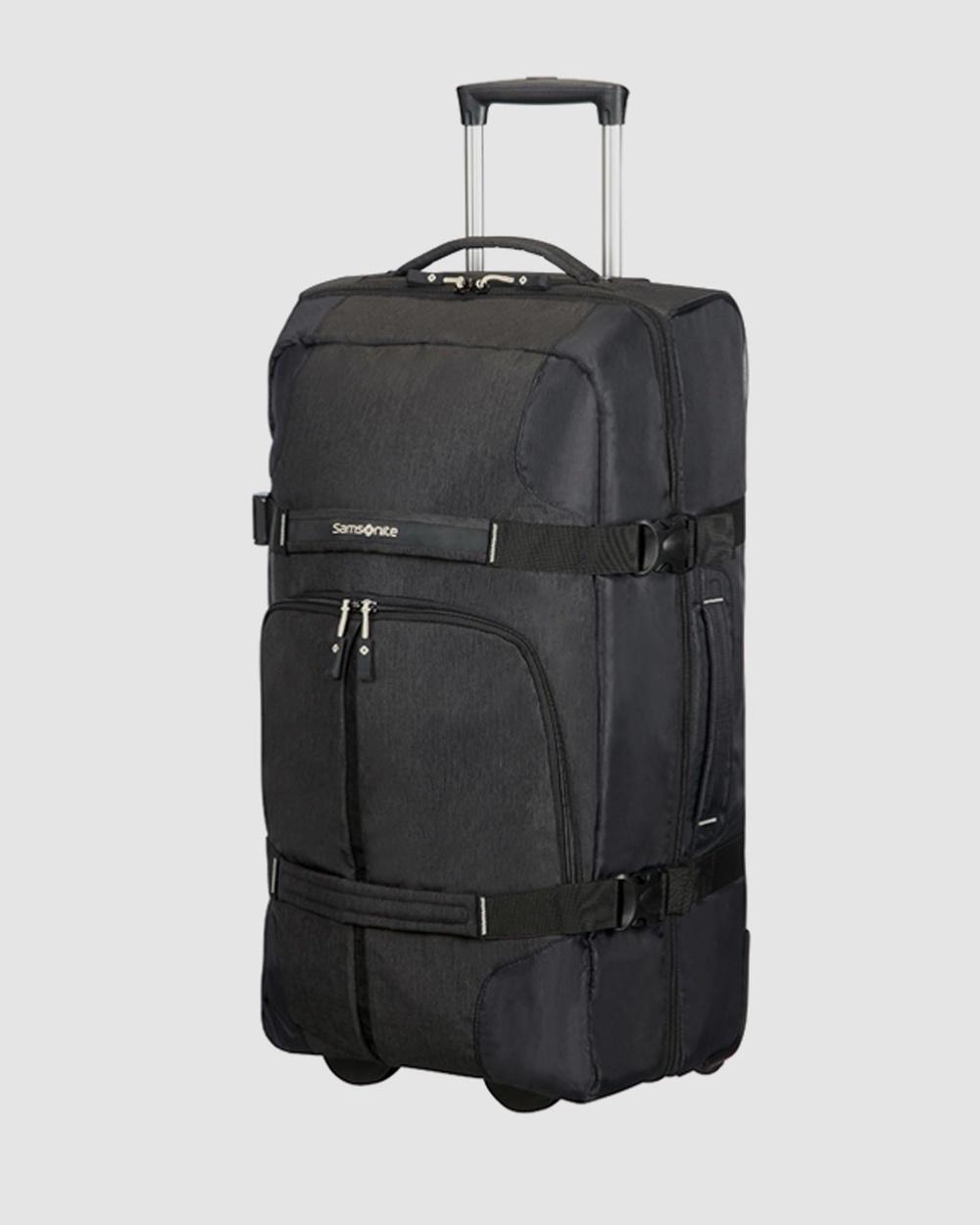 Samsonite Rewind Duffle Wheeled 68cm Bags Black