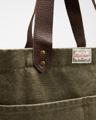 Rhythm Premium Tote Bag - Bags (Olive)