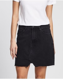 All About Eve - Shea Split Denim Skirt