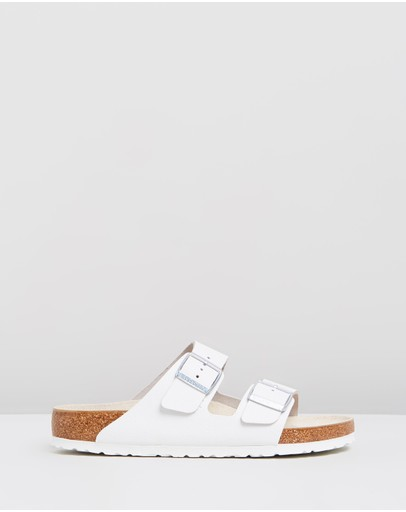 Birkenstock - Unisex Arizona Smooth Leather Regular Sandals