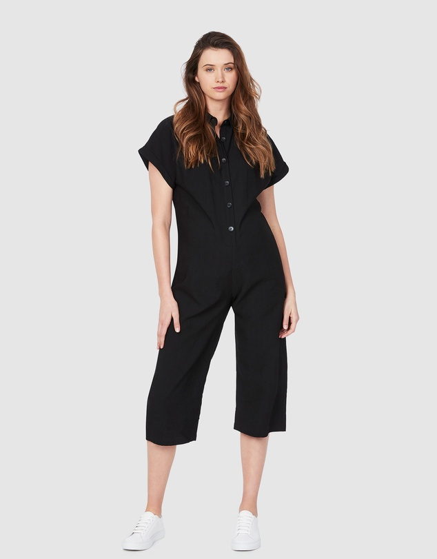 Soon Maternity - Lily Buttoned Jumpsuit
