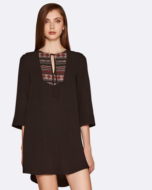 Amelius – Morocco Tunic – Tops Black
