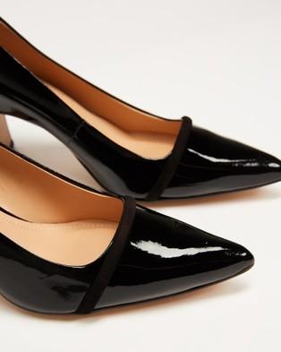 Nina Armando Shar II - Mid-low heels (Black Patent)