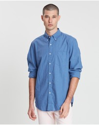 J.Crew - Stretch Secret Wash Heather Solid Poplin Shirt