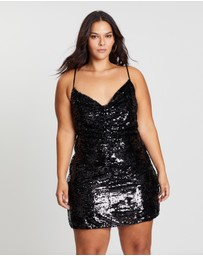 Atmos&Here Curvy - ICONIC EXCLUSIVE - Tilda Sparkle Mini Dress