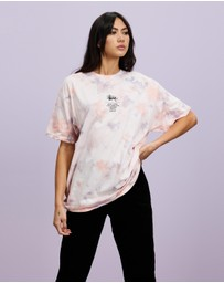 Stussy - Florida Tie-Dye Relaxed Tee