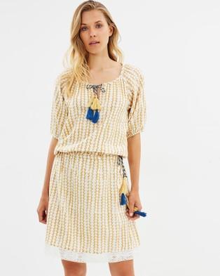 Solito – Senorita Dress – Printed Dresses Yellow