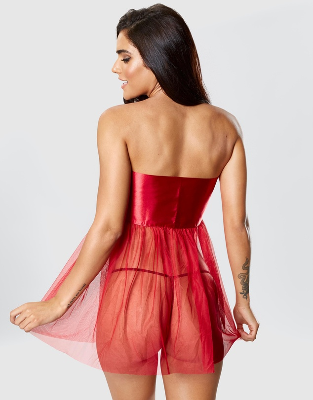 Women Unwrap Me Boxed Covered Dress