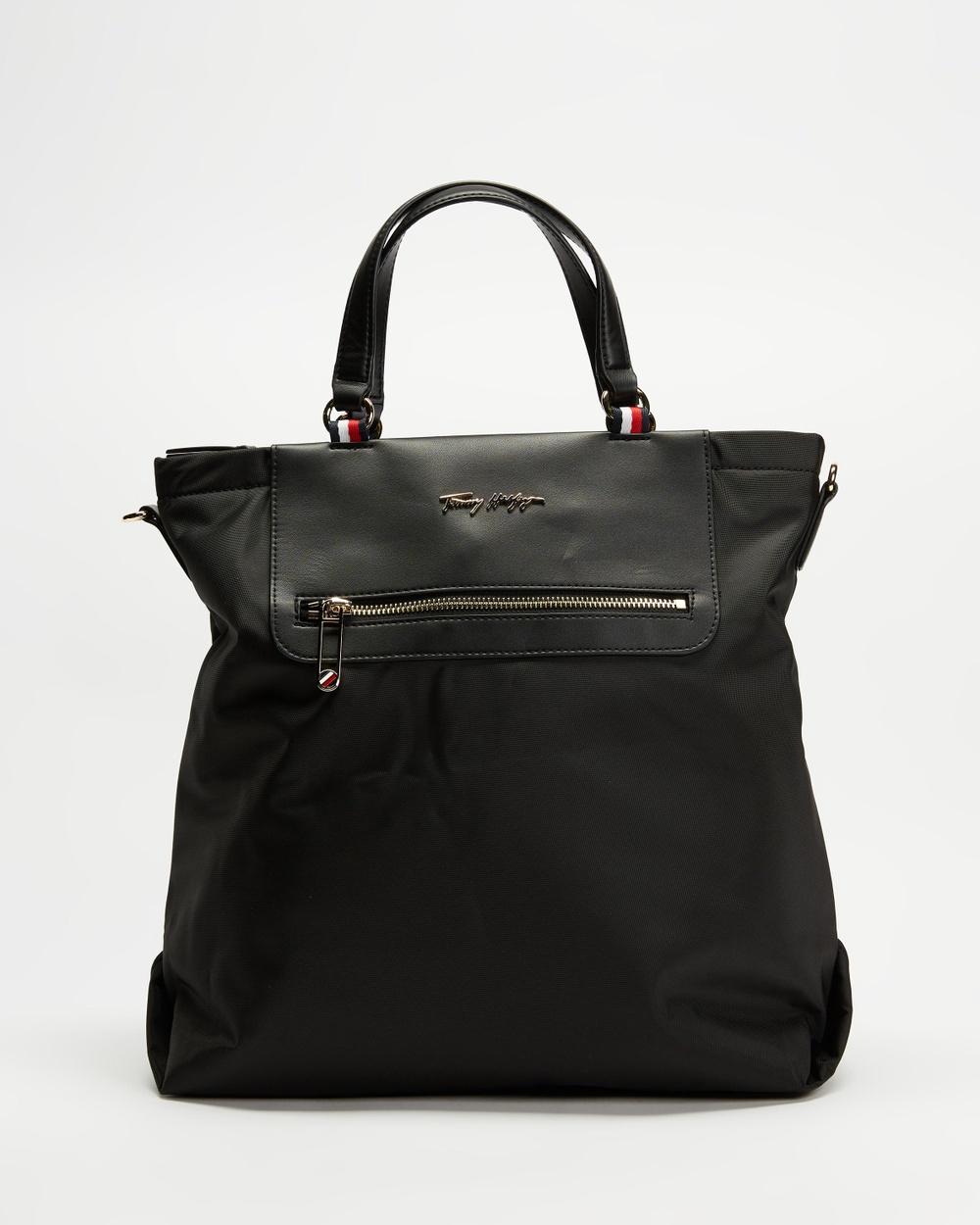 Tommy Hilfiger Fresh Tote Bags Black
