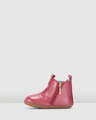 Bobux - Step Up Jodhpur Boots II (Cherry Shimmer)