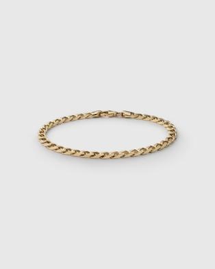 Miansai 4mm Cuban Chain Bracelet - Jewellery (Gold Vermeil)