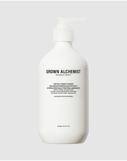 Grown Alchemist - Detox - Conditioner 0.1 Sea-Buckthorn CO2 Extract, Hydrolyzed Silk Protein, Amaranth 500ml