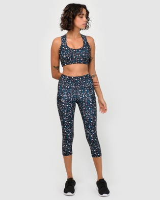 dk active Celeste Tight - 7/8 Tights (Wild Leopard Print)