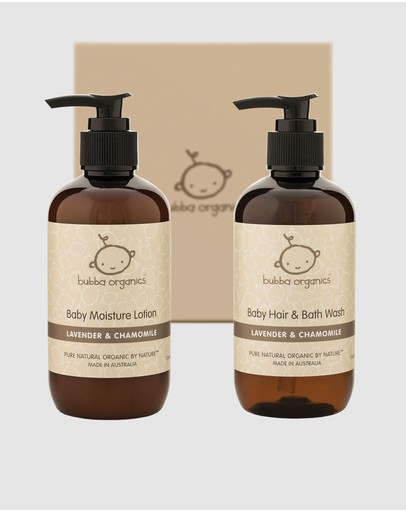 Bubba Organics - Lavender and Chamomile Baby Bath and Body Gift Box