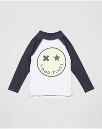 Cotton On Kids - Fraser LS Rash Vest - Kids