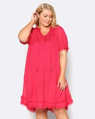 Adrift – Panama Dress Pink