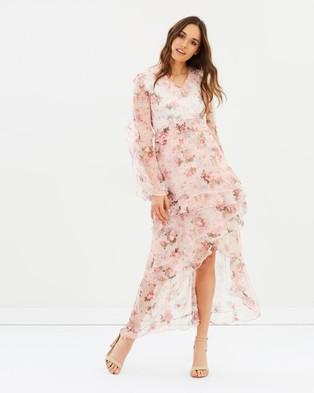 ALPHA-BE – Floressa 3D Maxi Dress