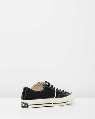 Converse - Chuck Taylor All Star 70 Ox Unisex Lifestyle Sneakers (Black)