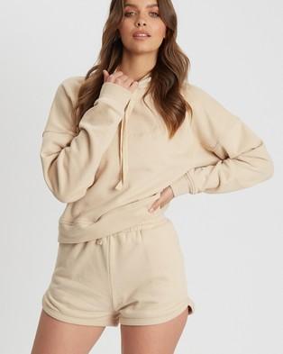 Tussah Chiara Shorts - Shorts (Stone)