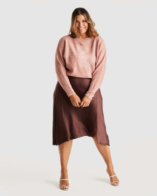 Estelle Sadie Knit - Jumpers & Cardigans (Blush)