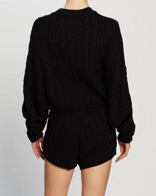 Dazie Fashion Fix Knit Jumper - Jumpers & Cardigans (Black)