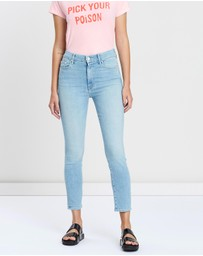 Mother Denim - High-Wasted Looker Crop Jeans