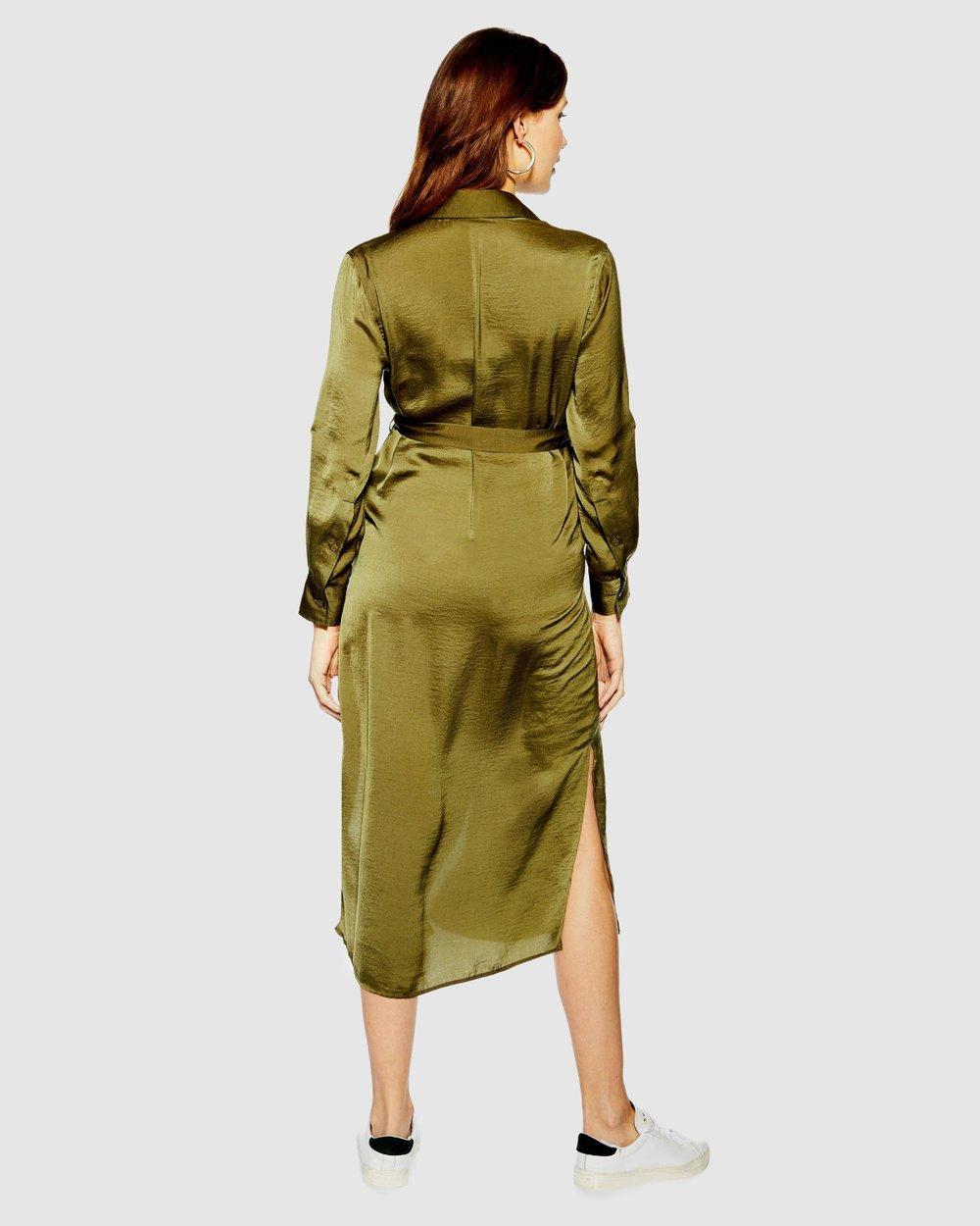 44dd74134cc5c Utility Shirt Dress by TOPSHOP Maternity Online | THE ICONIC | Australia