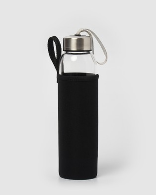 Miz Casa and Co Crystal Drink Bottle - Wellness (Amethyst)