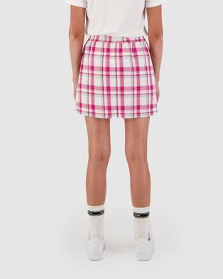 Huffer Gum Kira Skirt - Skirts (PINK)