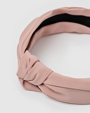 Izoa Cairo Headband - Hair Accessories (Nude)